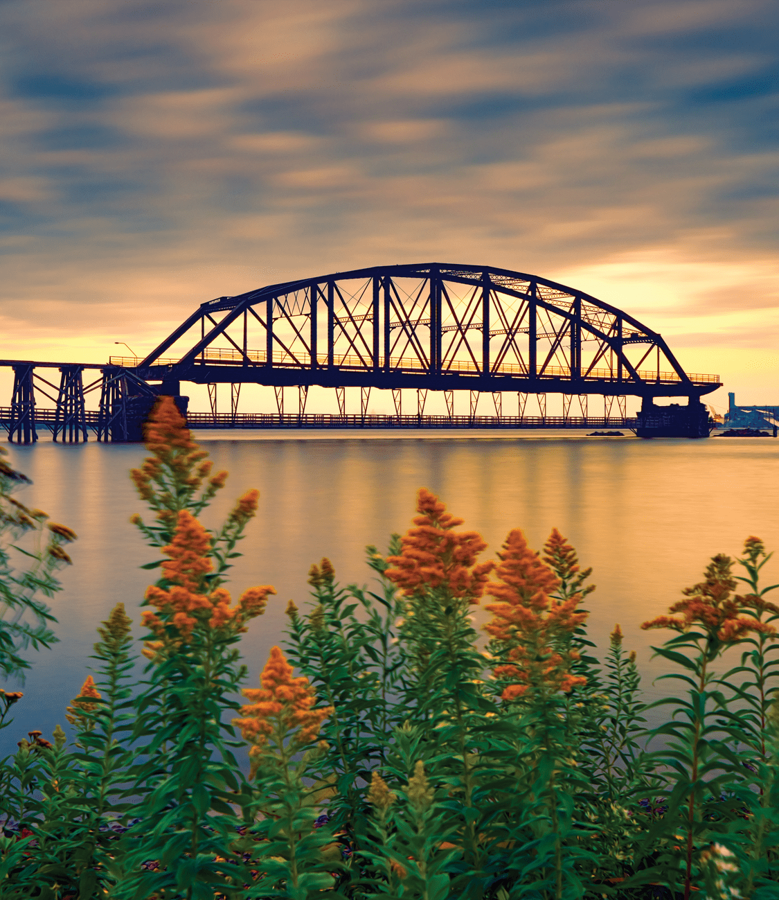 The historic Aerial Lift Bridge in Canal Park