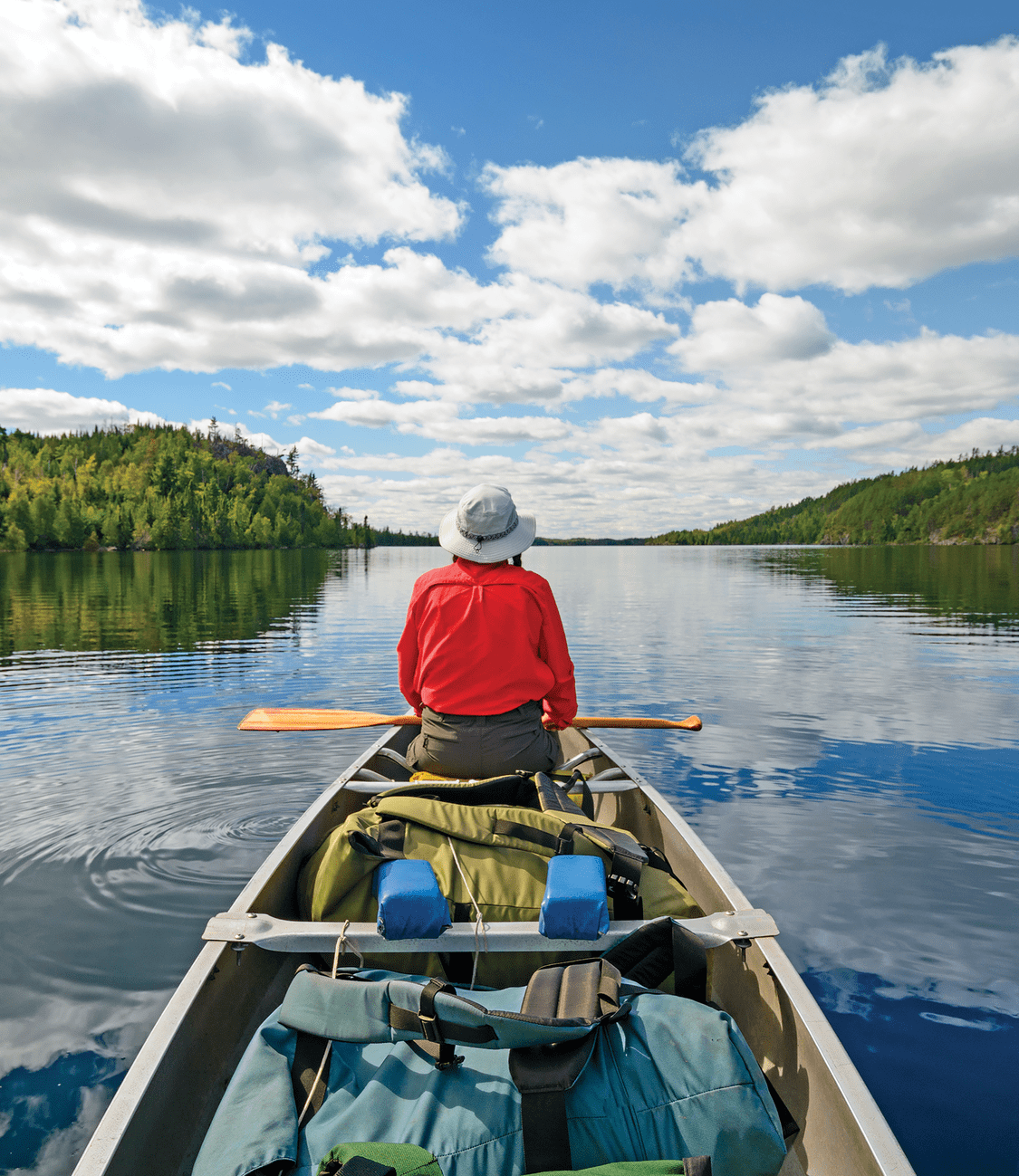 Get in touch with nature on a canoe